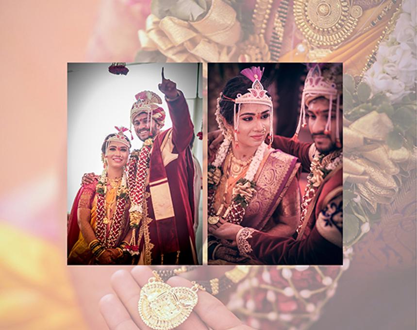 Wedding Album Indian Style